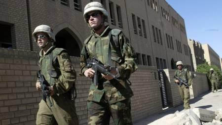 Amerikanske soldater i Irak (Foto: Gunnar Lier/SCANPIX)