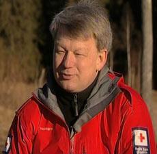 Lars-Otto Laukvik, nestleder i røde kors hjelpekorps