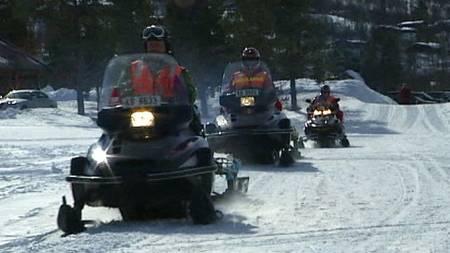 snø skuter (Foto: TV 2)