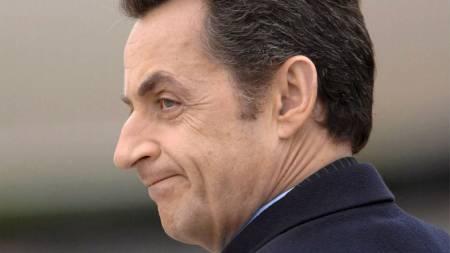 Frankrikes president Nicolas Sarkozy. (Foto: EPA/SCANPIX)