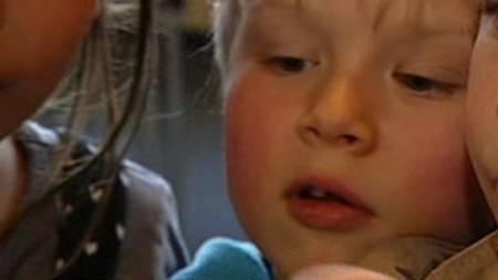 Peter Augistin Gillow Krooni var aboslutt ikke redd edderkoppene.  (Foto: TV  2)
