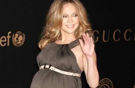 FORMFULL: Her ser vi Jennifer fra tiden hun gikk gravid. (Foto: Stella)