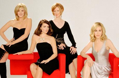 FLOTTE HKVINNER: Fra venstre, Kim Cattrall, Kristin Davis, Cynthia Nixon og Sarah jessica Parker. (Foto: Stella)
