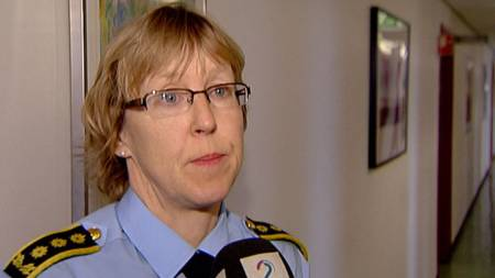 Astrid Birgitte Borge, Politiinspektør  i Asker og Bærum politidistrikt. (Foto: TV 2)