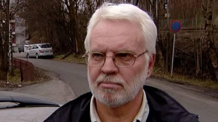 Tom Tysland, styreleder i Asker og Bærum Taxi. (Foto: TV 2)