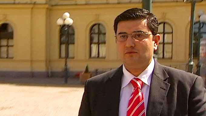 Mazyar Keshvari (Frp) (Foto: TV 2)