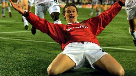 Forrige gang: Ole Gunnar Solskjær ble matchvinner mot Bayern Munchen i 1999.  (Foto: Johannessen, Jan/VG)