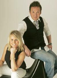 Camilla Wold Knutsen og Thomas Leikvoll leder «God Kveld Gullruten»   lørdag.