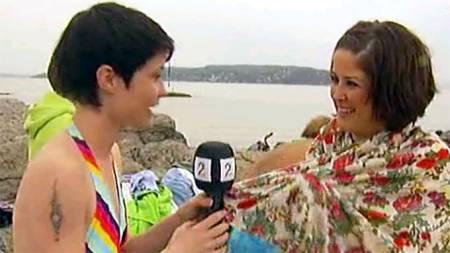 God morgen Norges reporter og Hilde Holdhus er ikke skvetne av seg!