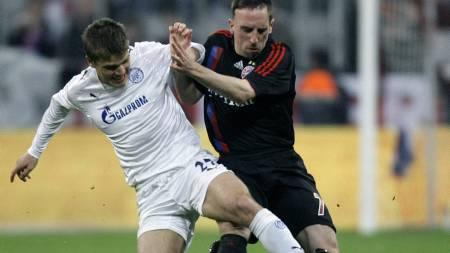 Franck Ribery, Igor Denisov (Foto: KAI   PFAFFENBACH/REUTERS)