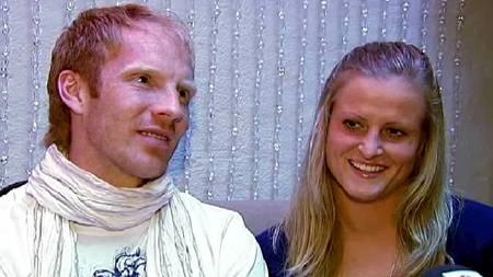 Peter Kovacs og Lindy Melissa Wiik.  (Foto: TV 2 Sporten/)