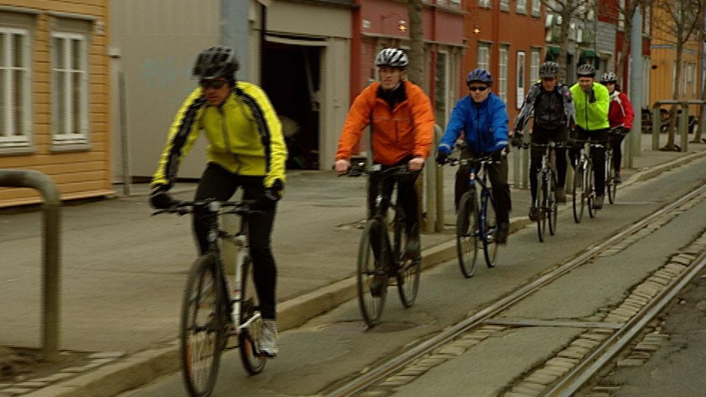Sykkeltest (Foto: TV 2 hjelper deg)