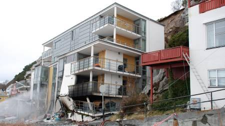 Dødsblokka i Ålesund. (Foto: SCANPIX/SCANPIX)