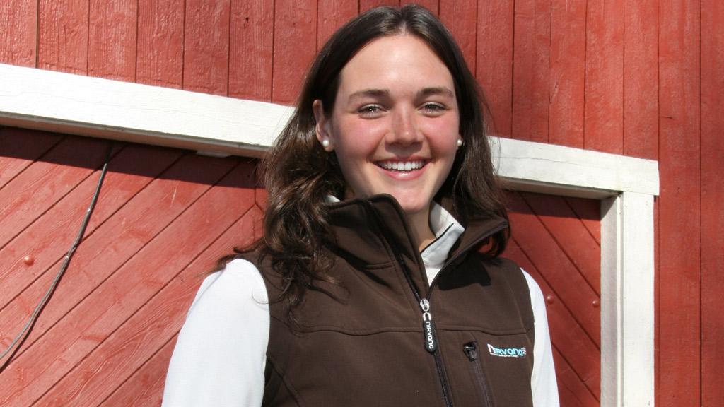 Ragnhild Strømmen jakten på kjærligheten bonderomantikk (Foto:  Beate Larsen)