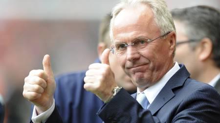 Sven-Göran Eriksson (Foto: ANDREW YATES/AFP)