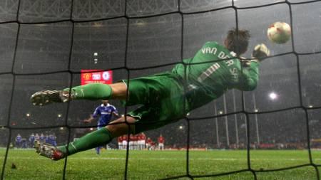 Edwin van der Sar  (Foto: FRANCK FIFE/AFP)
