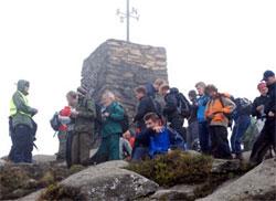 Pause på Løvstakken i 2007. (Foto: Bergen Turlag)