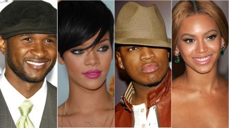 Rihanna Beyonce Ne yo usher