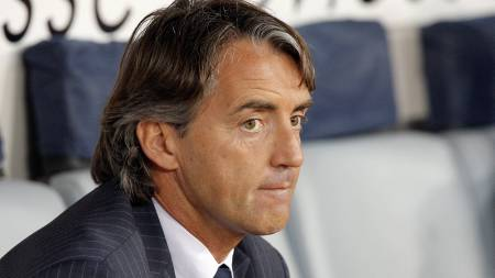 Mancini  (Foto: ALESSANDRO BIANCHI/REUTERS)