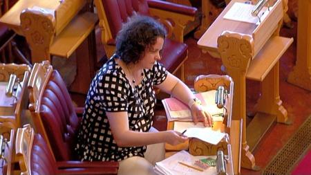 Helseminister Sylvia Brustad (Foto: TV 2)
