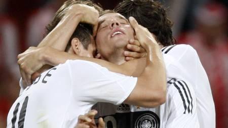 Lukas Podolski  (Foto: Jon Super/AP)