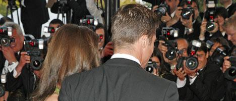 LINSELUS: Det er disse menneskene Brad og Angelina ønsker å se mindre til.