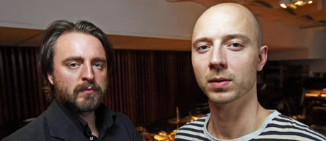 NYTT BAND: Frode Jacobsen og Sivert Høyem har reist rundt i Europa med nye Madrugada.