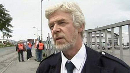 Leder i BSF, Ole Roger Berg. (Foto: TV 2)