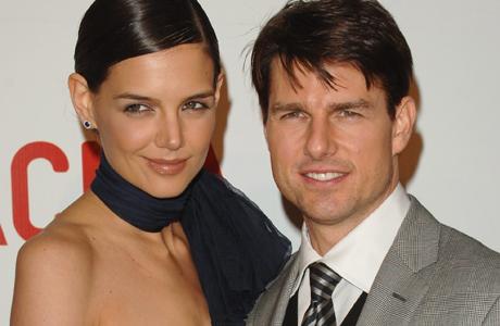 TURBULENTE EKTESKAP: Tom Cruise er mannen som har skapt så mye   flid mellom de to «konene». Kanskje han vil de skal bli venner? (Foto:   Stella)
