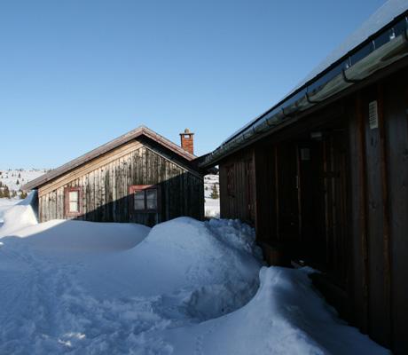 SETER: Ragnhild trives godt på stølen, både sommer og vinter.   (Foto: Beate Larsen)
