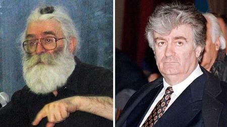 Radovan Karadzic nå og før (Foto: Reuters/Scanpix, ©Reuters/Scanpix)