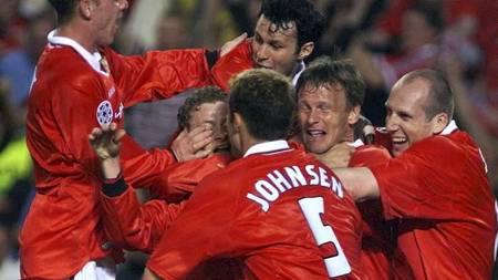 Manchester United 1999  (Foto: OWEN HUMPHREYS/EPA)