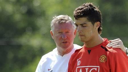 Alex Ferguson og Cristiano Ronaldo  (Foto: ANDREW YATES/AFP)