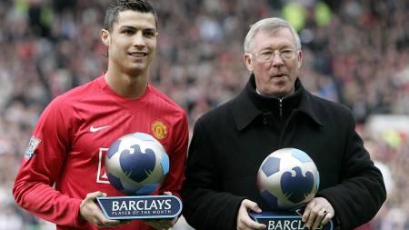 Ferguson og Ronaldo  (Foto: PAUL ELLIS/AFP)