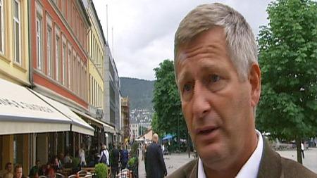 Ordfører i Drammen, Tore Opdal Hansen, er ikke fornøyd med det nye asylmottaket.