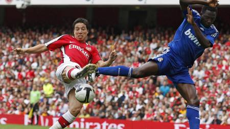 DEN NYE ZIDANE? Arsenals Samir Nasri  (Foto: ALESSIA PIERDOMENICO/REUTERS)
