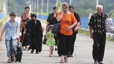 Flyktninger5 (Foto: VLADIMIR POPOV, ©VG   RC**LON**)