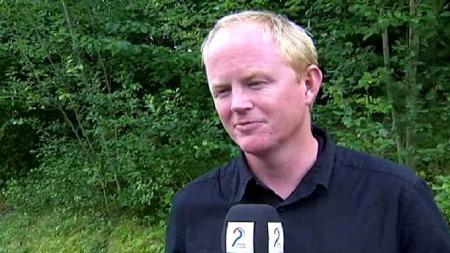 - MENINGSLØST: Leder i Norges Naturvernforbund, Lars Haltbrekken, reagerer på planene.  (Foto: TV 2)