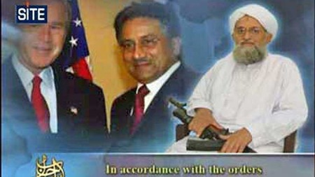 Musharraf og Al-Qaida (Foto: AFP)