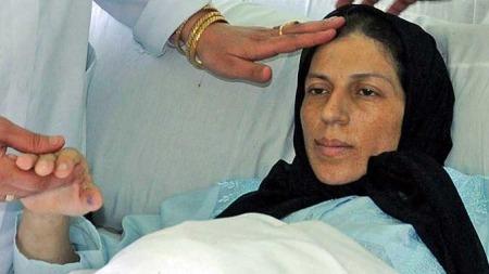 Syvlingenes mor, Ghazala Khamis (Foto: AP)