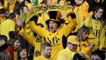 Bodø/Glimt, supportere  (Foto: Stangeland, Robin/SCANPIX)