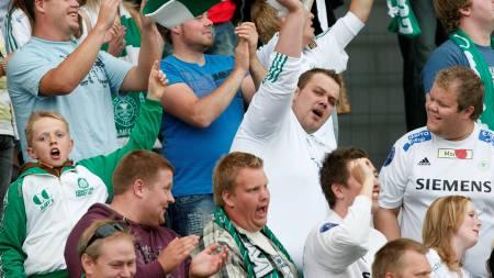 HamKam, supportere  (Foto: Sigurdsøn, Bjørn/SCANPIX)