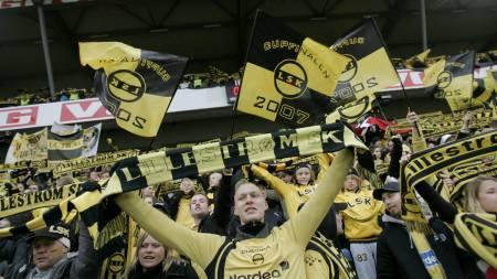 Lillestrøm, supportere  (Foto: Solum, Stian Lysberg/SCANPIX)