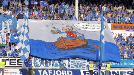 Molde, supportere  (Foto: Ekornesvåg, Svein Ove/SCANPIX)