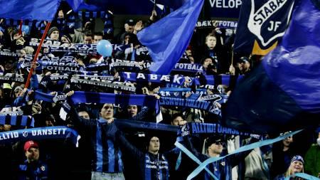 Stabæk, supportere  (Foto: Lien, Kyrre/SCANPIX)
