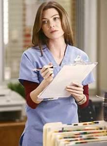 POPULÆR: Meredith Grey har blitt en hit blant fansen.
