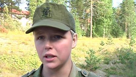 Befalselev Emilie Paulsen. (Foto: TV 2)