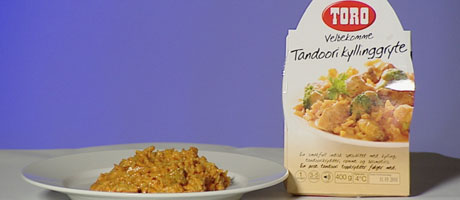 kylling tandoori toro