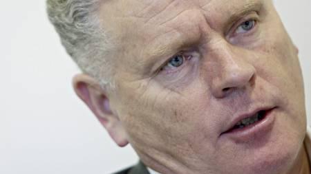 Jan Davidsen, leder av Fagforbundet.  (Foto: Stian Lysberg Solum/SCANPIX)