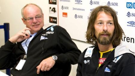 Svein  Mathisen og Erik Mykland.  (Foto: Schrøder, Tor Erik , ©JFE )